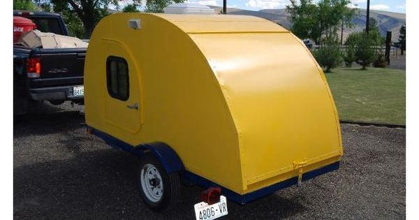 Lightweight Teardrop Trailer Adorable And Cute Living Here Would Be A Hoot Pinterest