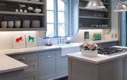 Grijze keuken keukenstijl pinterest warm grijs keuken en grijs - Idee deco keuken grijs ...