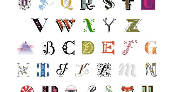 Jessica Hische Alphabet Letters