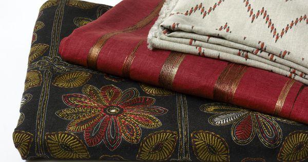 New Robert Allen Naturals Fabrics From Top To Bottom Morgans Point Cayenne Brushed Up Cayenne Wayside Garden Graphite Robert Allen Design