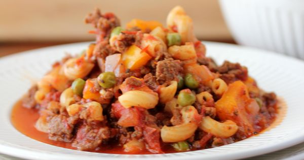 Old Fashioned Goulash - A one pot wonder that's perfect for any