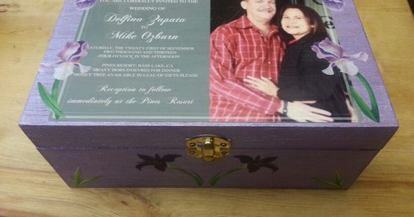 1000 Ideas About Wedding Invitation Keepsake On Pinterest: DIY Wedding Invitation Keepsake Jewelry Box. I Keep My