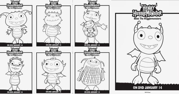 henry wiggle bottom coloring pages - photo#27