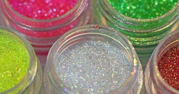 4oz Jars. Disco Pearls Pink White Gold Glitter Pearls