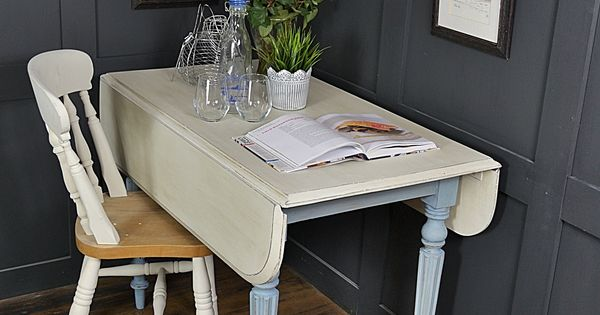 This Space Saving Drop Leaf Pembroke Table Is Just Perfect