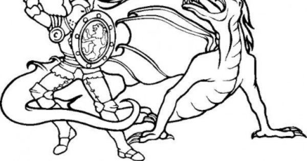 Kamen Rider Dragon Knight Coloring Pages Dragon Coloring Page
