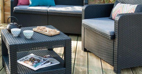 13 Salons De Jardin Quali A Prix Mini Mobilier Jardin Coin Salon Exterieur Et Salon De Jardin Detente