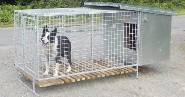 Hand Built Metal New Zealand Style Dog Kennel With Images Dog