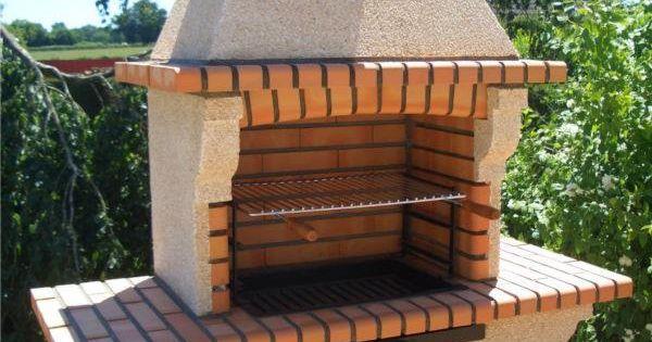 Barbecue Fixe Fonctionnel Et Esth Tique Dans Le Jardin Moderne Fixe Barbecue Et Briques