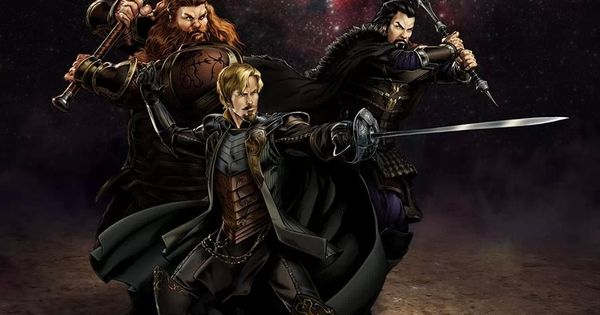 Warriors Three Hogun Fandral Volstagg | Marvel Avengers ...