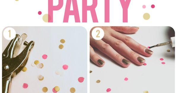 polka dot nail tutorial!