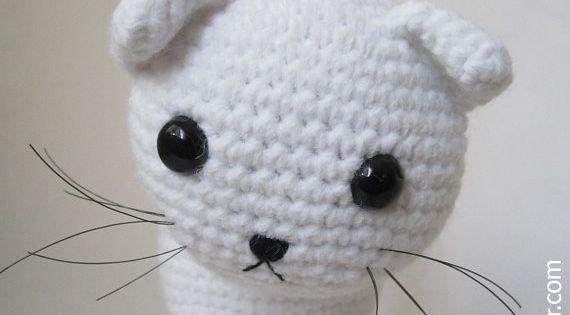 Amigurumi Gatita Kitty : Amigurumi Cat Pattern Gatos, Estampado de gatos y Croche