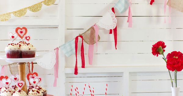 Valentine's Day Decorations Ideas | Valentines Day Crafts | The Lettered Cottage