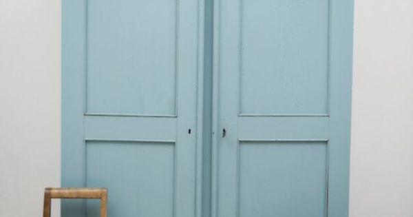 Une armoire ancienne repeinte pour la chambre des enfants children 39 s room vintage wardrobe - Armoire ancienne repeinte ...