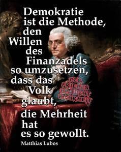 Matthias Lubos Demokratie Weisheiten Zitate Sprüche
