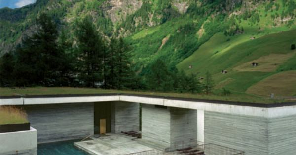 peter zumthor les thermes de vals suisse 1996 cr er un espace thermal au sein d 39 un. Black Bedroom Furniture Sets. Home Design Ideas