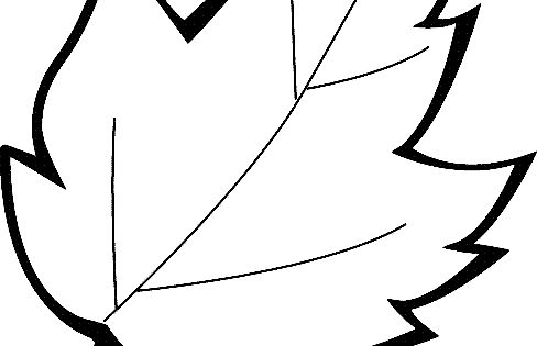 Leaf Coloring Page 13 Printable Coloring Page For Kids And