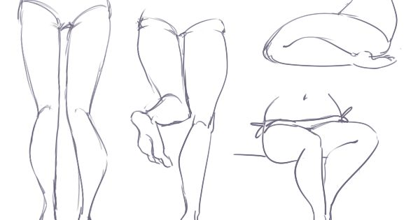 legs by burdge this will help me out a lot my drawings