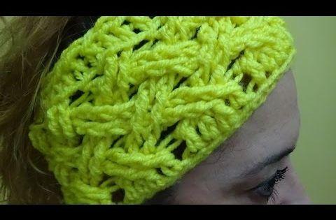Tutorial banda pelo crochet o ganchillo f cil youtube - Diademas a crochet ...