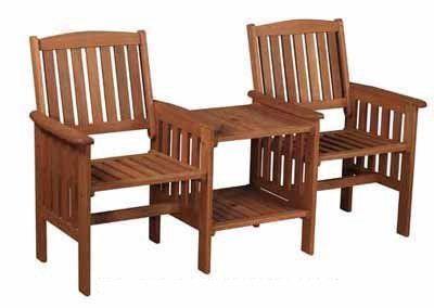 kingfisher love seat companion set garden chairs rattan furniture price 1214