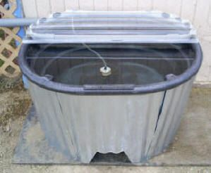 Bob S Insulated Stock Watering Tank Water Heating Horse Water Trough Water Heating Systems