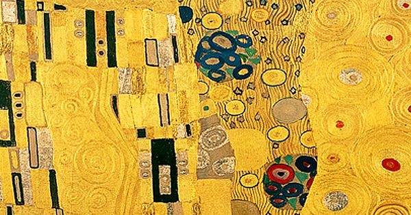 Gustav Klimt The Kiss Detail Between 1907 08