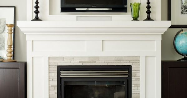 Hanging Your Tv Over The Fireplace Yea Or Nay Fireplaces Love The And Hearth