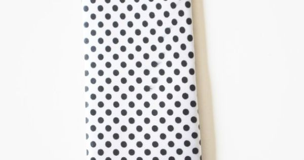 Mens Tie White and Black Polka Dot Skinny Necktie by TiestheKnot, $8.99 | See more about Men Ties and Ties.