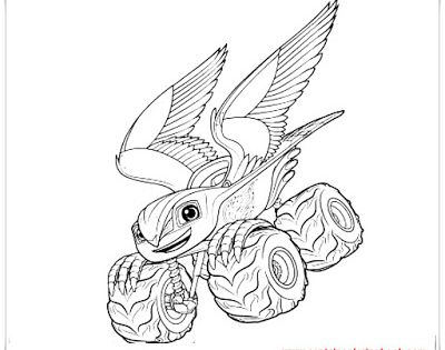 Falcon Blaze Colouring Page Coloring Pages Coloring Pages For Kids Kids Coloring Books