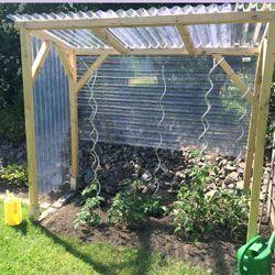 Häufig Tomatenhaus selber bauen – unser Beispiel und Bauanleitung EX21