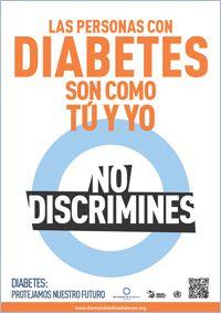 carteles de sensibilización sobre la diabetes gratis uk