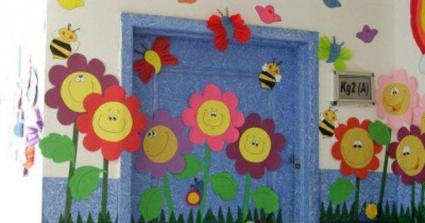 100 im genes decoraci n primavera teaching pinterest for Decoracion primavera manualidades