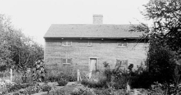 Shute House Everett Ma New England Homes Colonial House Old