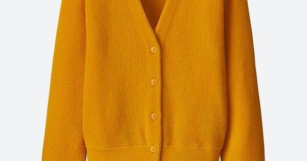 WOMEN UNIQLO U WOOL V NECK CARDIGAN | Uniqlo, Fashion