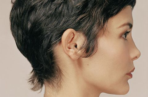 Pixie haircut / Audrey Tatou