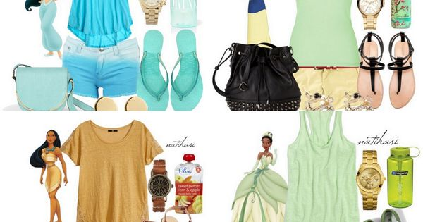 Disney Princess Theme Park Outfit Collection... who wouldn't want to dress like