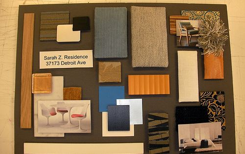 Sample Board For Loft In SF Warehouse District By Knightsby Interior Design Amy DeLeon Rogers