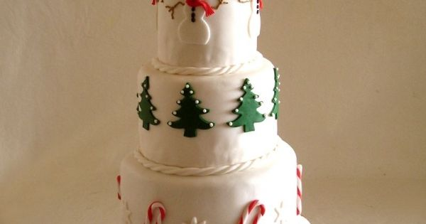 Christmas Cake | Cake Decorating