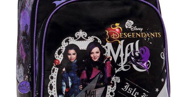 Mochila Disney De Los Descendientes Modelo Live Evilde 4