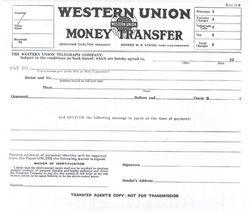 How To Get Money Through Western Union Money Transfer