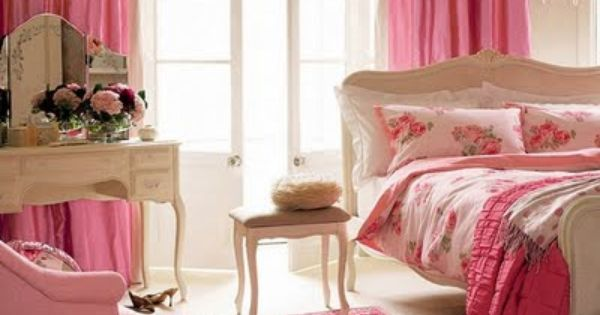 Inspiring image ideas, bed, decoration, decor, interior, bedroom, design, color, pink, room
