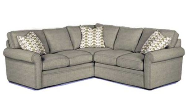 Brentwood Sectional Modular Sectional Choice Of Over 500 Fabrics Puritan Furniture West