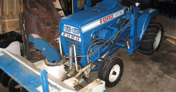 Ford Garden Tractor Snow Blower Few Pics Of The Ford Lgts Mytractorforum Com The Garden Tractor Tractors Tractor Idea