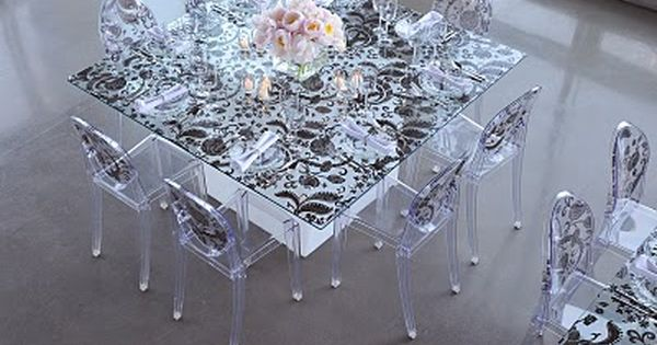 Black And White Ghost Chairs Via Petals Planning Company: A Boutique  Wedding + Event Planning