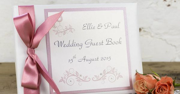 Personalised Ever After Wedding Guest Book | Personalised ...