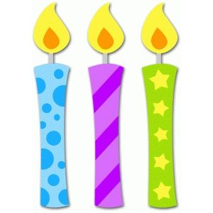 Silhouette Design Store 3 Birthday Candles Birthday Candles Printable Birthday Candle Clipart Birthday Candles