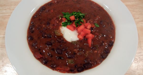 bean and chipotle soup | Healthy Eating | Pinterest | Black Bean Soup ...