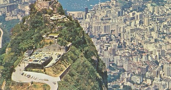 Brazil, Rio De Janeiro - Aerial View, Christ Redeemer