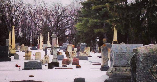 Willow grove cemetery armada michigan february 28 2013 for Extra mural cemetery brighton
