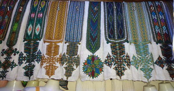 Cultural Habesha Dress Ehiopian And Eritrean Wear This On